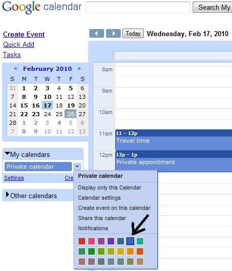 Google Calendar: How It Works: Multiple Exchange Calendars On Your IPhone